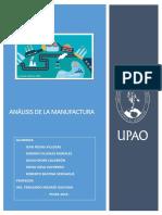 Analisis de La Manufactura - Revisado