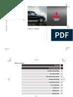 Manual Mitsubishi Pajero Ioana