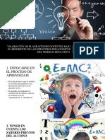 PRINCIPIOS PEDAGÓGICOS EXPLICACIÓN