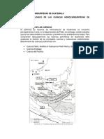 Cuencas Hidrocarburiferas de Guatemala