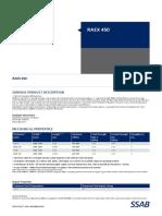 Data Sheet Raex 450