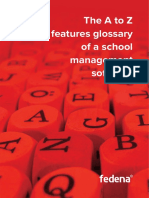 A2Z Features Glossary of School Management Software