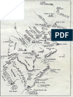 Harta Muntilor Ceahlau (Zona Inalta)