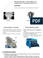Industria Ceramica, Cemento y Particulas