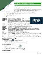 Module II b. Spreadsheet Application
