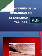 Aplicamcion de La Geomecanica a Estabilidad de Taludes