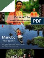 Manobo Tribe Report