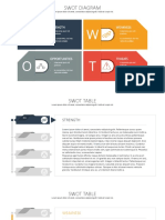 0021 01 Swot Analysis PowerPoint Template Deck 16x9