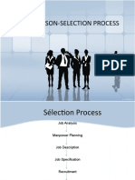 Sales Person-selection Process