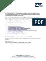 SAP FSCM Course Content PDF