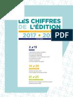 Les ventes 2017 de l'édition française