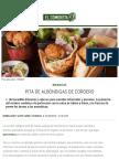 Pita de albóndigas de cordero | Recetas El Comidista EL PAÍS