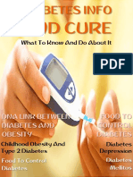 Diabetes Info and Cure