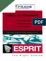 ESPRIT 2011 Treinamento Básico Torno e Fresa