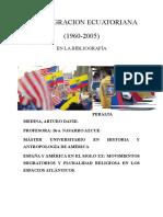 Migracion Ecuatoriana en España