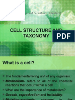 Cell Structure and Taxonomy