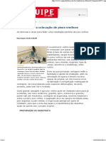 Ed. 12 - Jul-Ago-2007 - Como Fazer a Colocação de Pisos Vinílicos