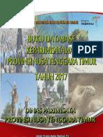 Buku Database Pariwisata Nusa Tenggara Timur Tahun 2017