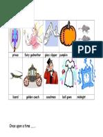 Word Bank for Cinderella