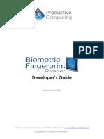 Developers Guide Biometric