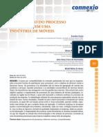 MAPEAMENTO DO PROCESSO PRODUTIVO EM UMA INDÚSTRIA DE MÓVEIS