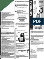 Manual Batedeira PRÁTICA Mondial B 35NP