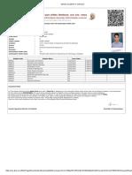 Admit Card 2016-17 Odd-Sem