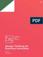 DesignThinking for Business Innovation Lisboa