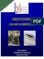 Cardiotocografia o Seu Valor Na Obstetricia Atual