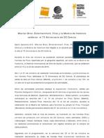 40.- Nota de Prensa.75 Aniversario Dc Comics- Fnac