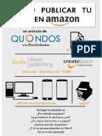 Cómo Publicar Tu Libro en Amazon - La Mega Guía - Formato PC