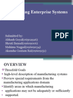 Manufacturing Enterprise System