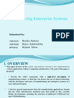 Manufacturing Enterprise Systems