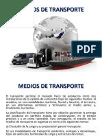 Medios de Transporte Logistica