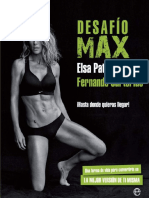Desafío Max - Elsa Pataky y Fernando Sartorius