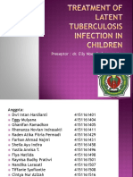 Treatment of LatenTuberculosis Infection in Children