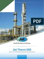 Cartilla Jet Therm 550
