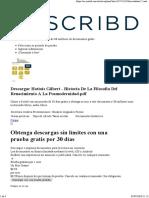 Scribd HOTTOIS - Technoscience