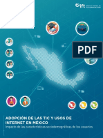 Adopcion de Las Tic y Usos de Internet en Mexico