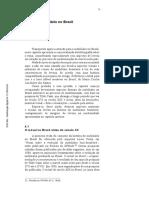Leveza e Mobiliário No Brasil
