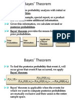 Bayes' Theorem New