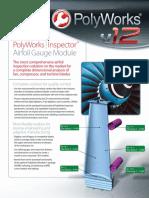 Software PolyWorks V12 Inspector Airfoil Gauge Module En