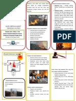 Leaflet Kebakaran Hutan Penyuluh