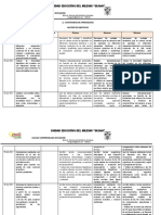 Matriz de Objetivos  Pci 17-18