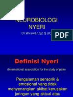 Neurobiologi Nyeri