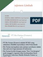 KELOMPOK 3 - Manajemen Limbah PT Bio Farma.pptx