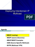 Interdomain Multicast