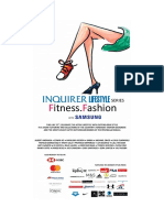 Inquirer Lifestyle Series Fitness.fashion With Samsung 10th Anniversary Enchong Dee for BENCH