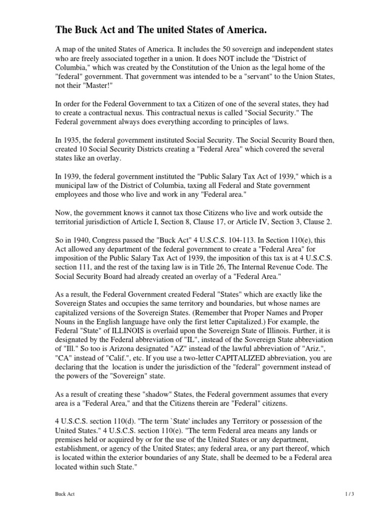 buck-act pdf | Federal Government Of The United States