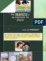 SESIÓN 10 - Me Respeto y Sé Expresar Mi Afecto (PFRH)